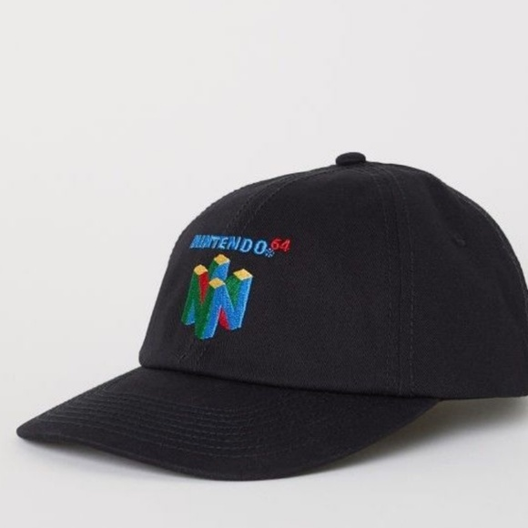 69e6f2b1dc0 Nintendo 64 Video Game Embroidered Cap Hat. NWT